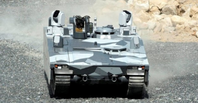 Oklepno vozilo CV90 armadillo