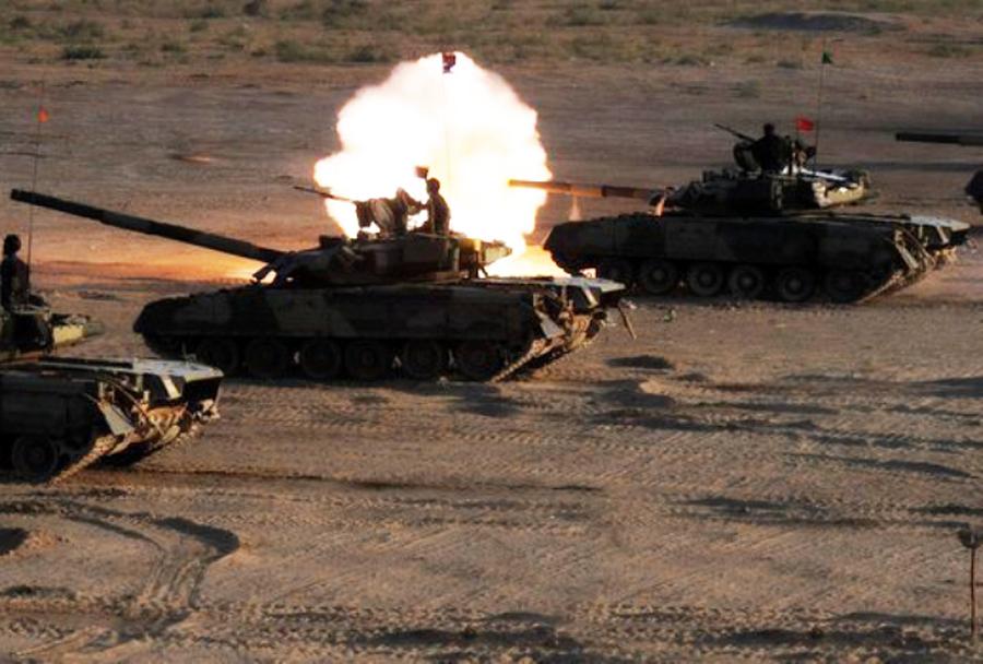 Pakistanska vojska - tank T-80UD