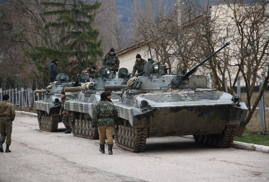Oklepne sile na Krimskem polotoku