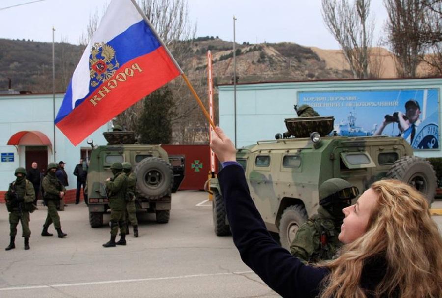 Ruski vojaki - Krimski polotok