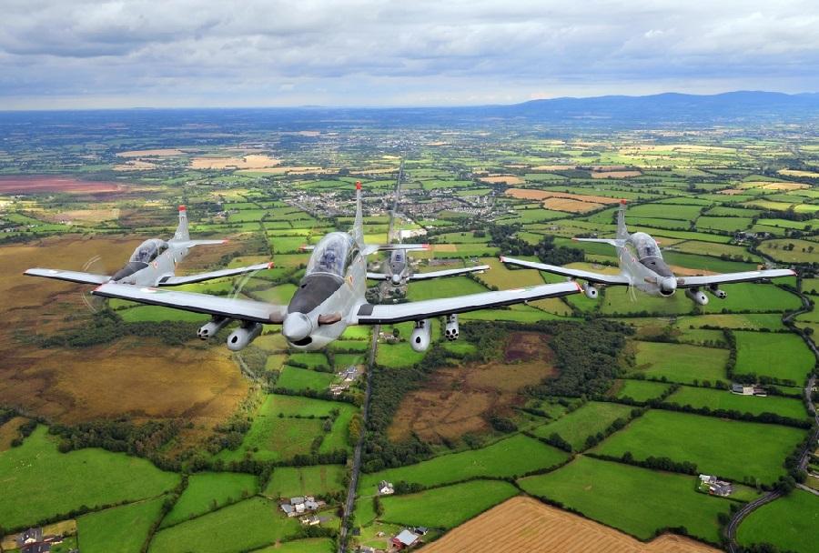 Šolska letala Pilatus PC-9M Irskih letalskih sil