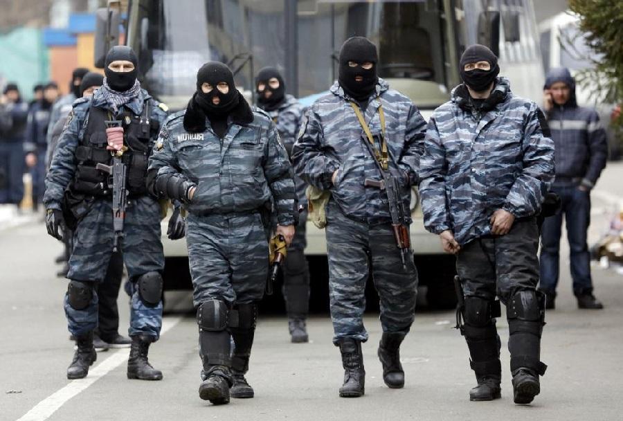Ukrajinska specialna policijska enota berkut