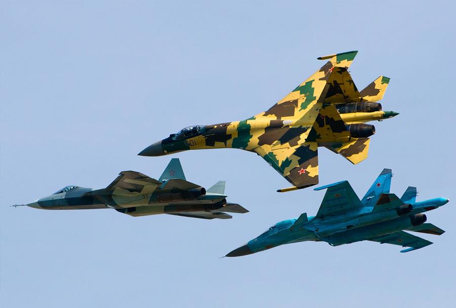 Ruske letalske sile