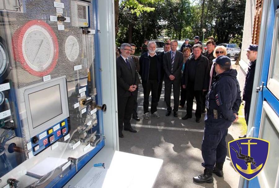 430. mornariški divizion Slovenske vojske - obisk Odbora za obrambo