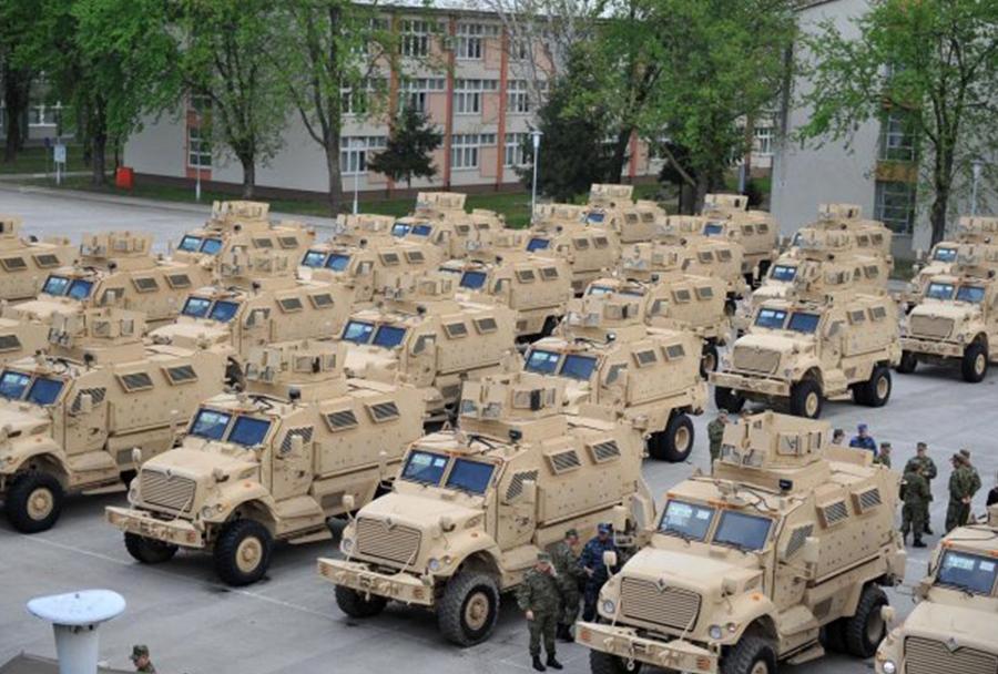 Hrvaška vojska - vozila paxpro MRAP