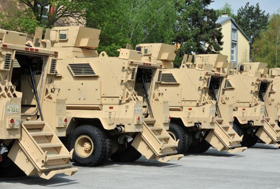 Hrvaška vojska - vozila MRAP