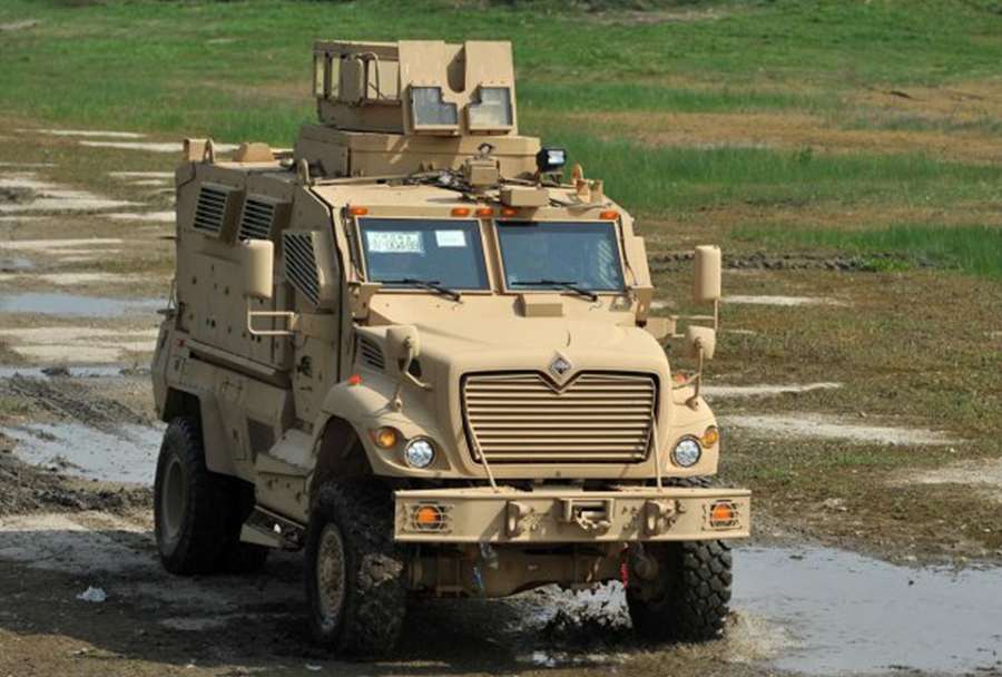 Hrvaška vojska - vozilo maxpro MRAP