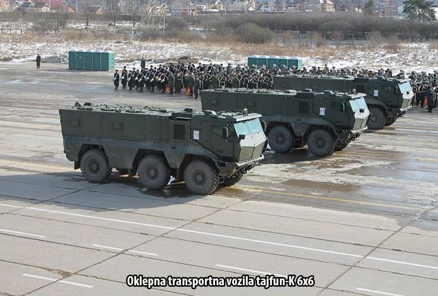 Ruska-vojska-oklepna-transportna-vozila-tajfun-K-6x6