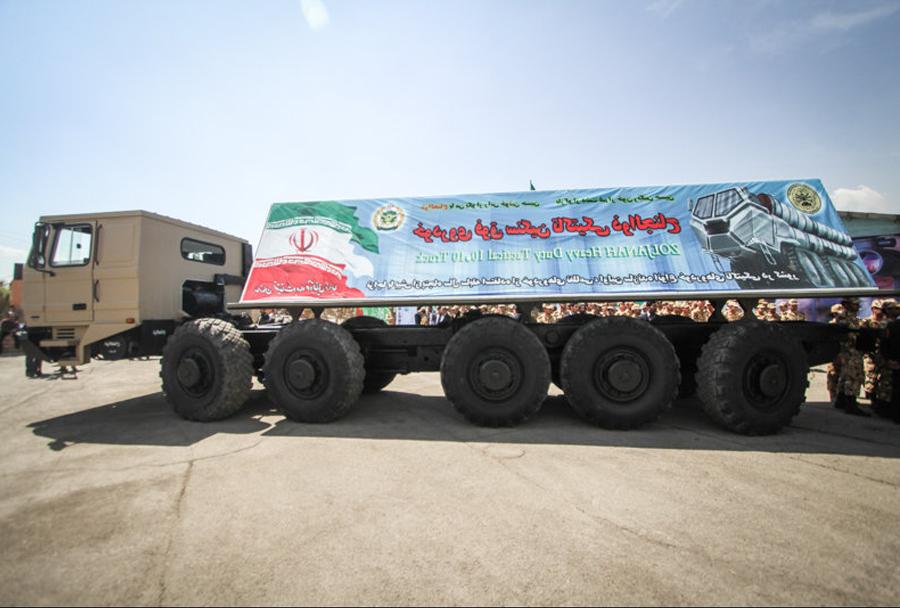 Iransko taktično vozilo zoljanah