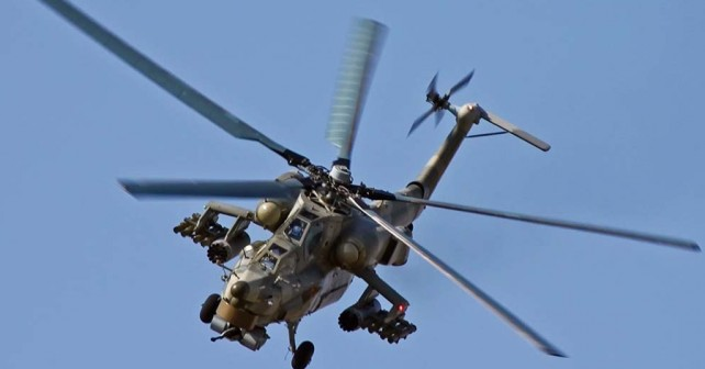 Ruski jurišni helikopter Mi-28 night hunter