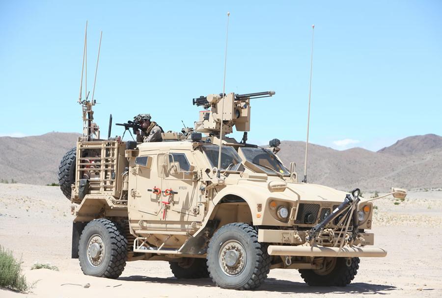 Oklepno vozilo s protiminsko zaščito MRAP - Oshkosh M-ATV