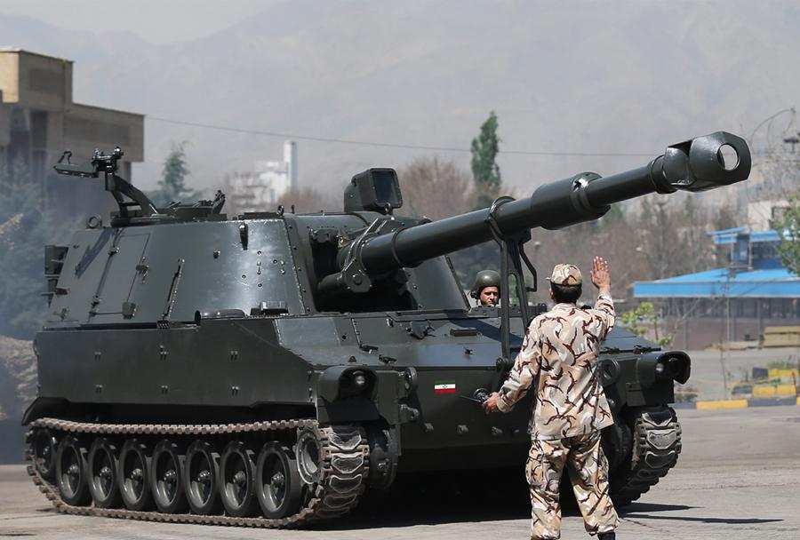 Samovozna havbica hoveyzeh - 155mm