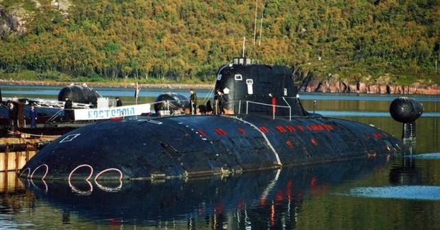 Ruska jedrska podmornica Kostroma B-276 razreda sierra I (barakuda)
