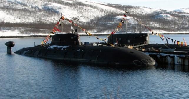 Ruska jedrska podmornica razreda sierra I