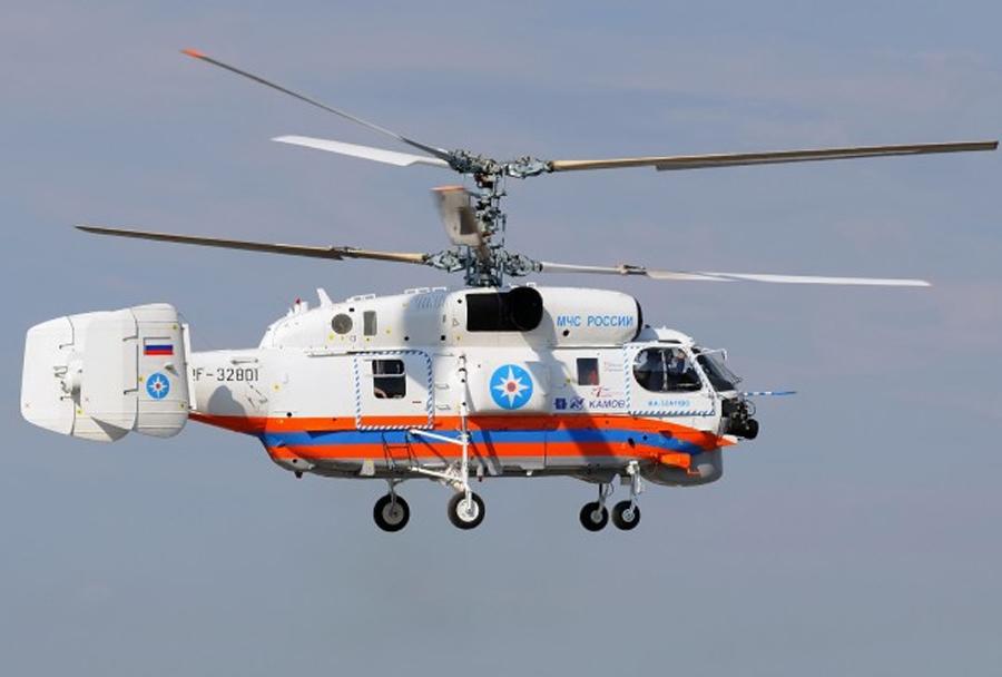 Ruski reševalni helikopter Ka-32A11BC v Srbiji