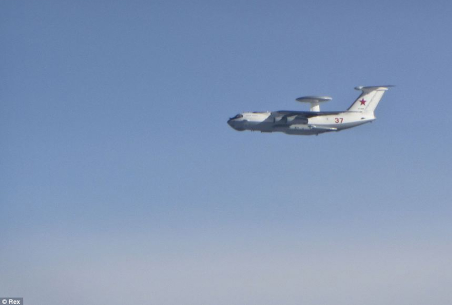 Rusko-letalo-za-zgodnje-opzarjanje-Berijev-A-50-nad-Baltikom