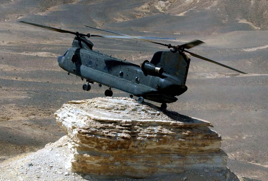 Ameriški helikopter CH-47 chinook