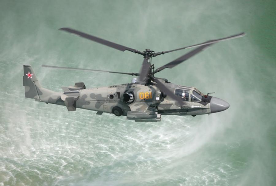 Bojni helikopter Ka-52 aligator