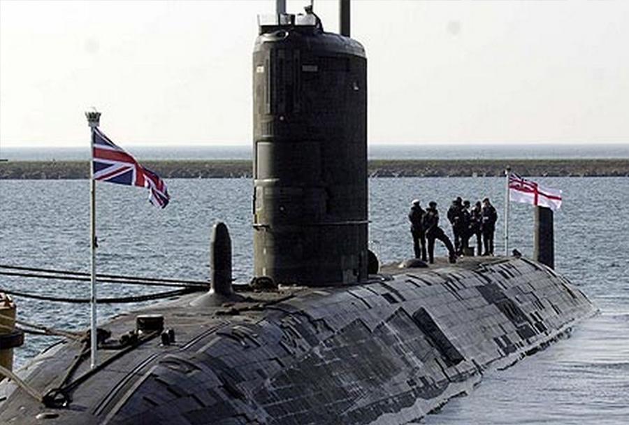 Britanska jedrska podmornica HMS Turbulent (S87) razreda trafalgar