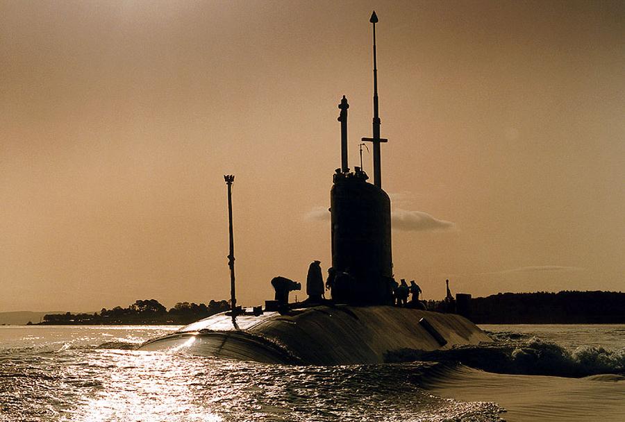 Britanska jedrska podmornica HMS Turbulent razreda trafalgar