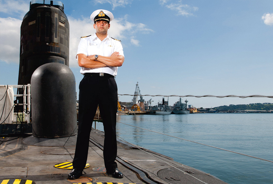 Ryan Ramsey na podmornici razreda trafalgar