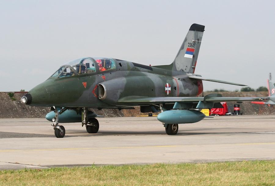 Srbsko letalo G-4 supergaleb