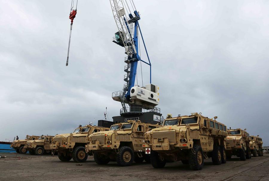 MRAP vozila RG-33 HAGA za Hrvaško vojsko na Reki