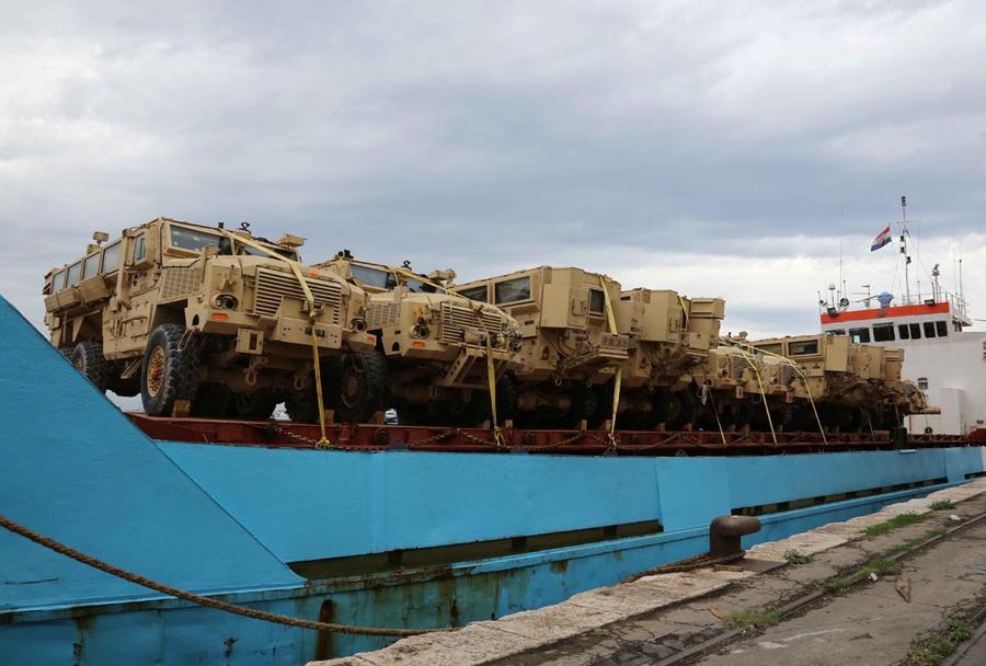 MRAP vozila RG-33 HAGA za Hrvaško vojsko