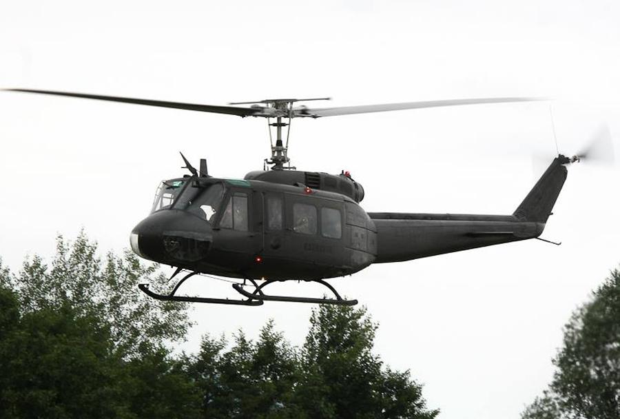 Vojaška vaja Zvita podlasica 2014 (Clever Ferret): AgustaBell 212 Italijanske vojske
