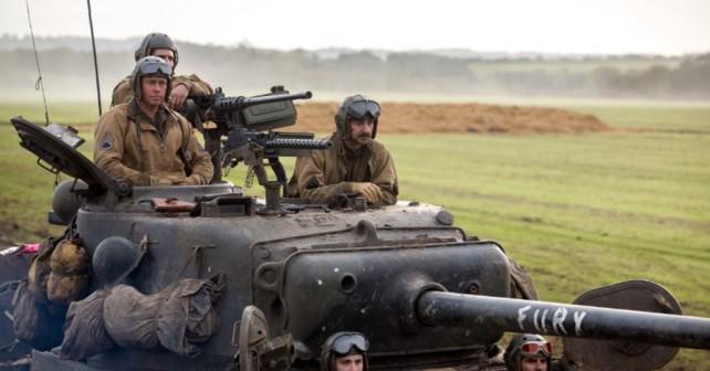 Film Fury - zgodba o ameriških tankistih v 2. svetovni vojni