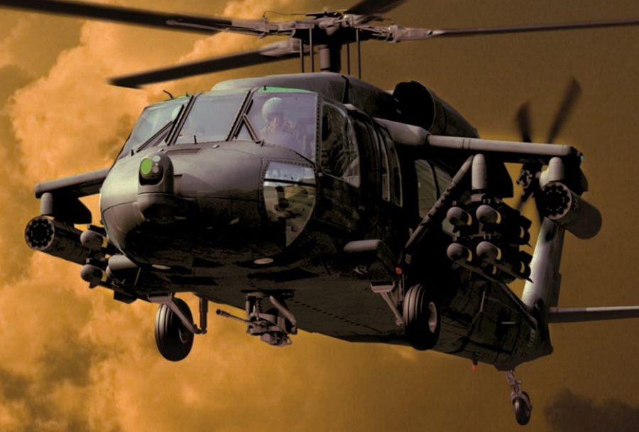 Helikopter UH-60/S-70 battlehawk