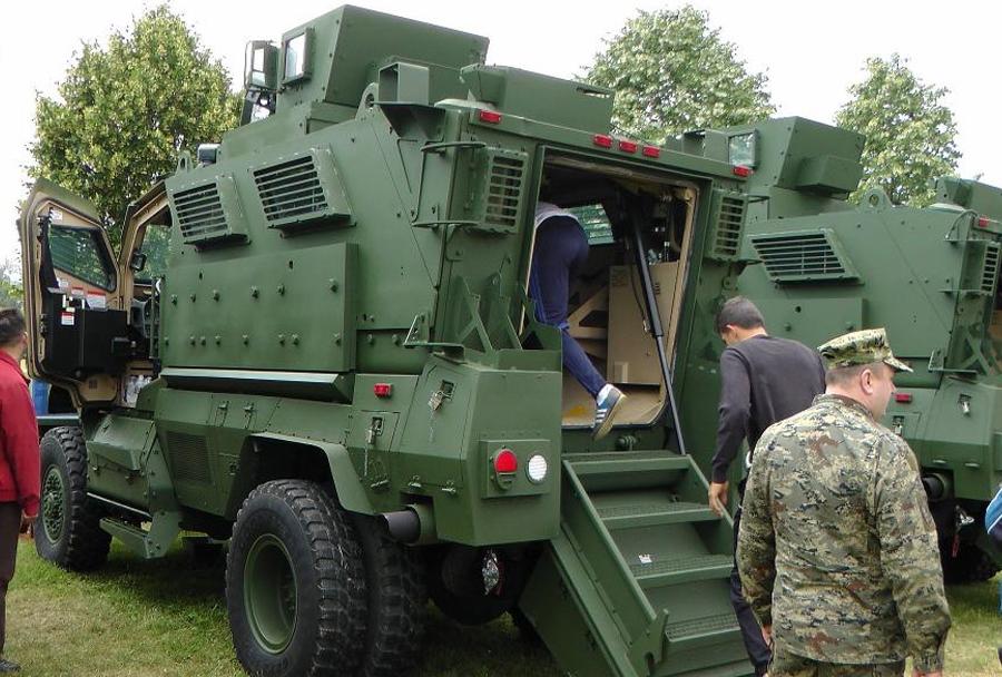 Dan Hrvaške vojske 2014 - MRAP maxxpro