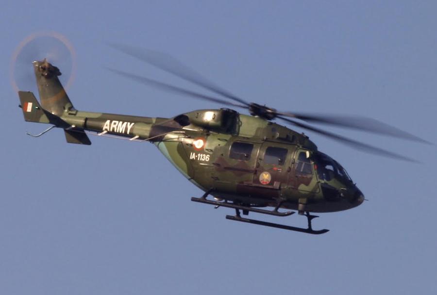 Indijski helikopter HAL dhruv