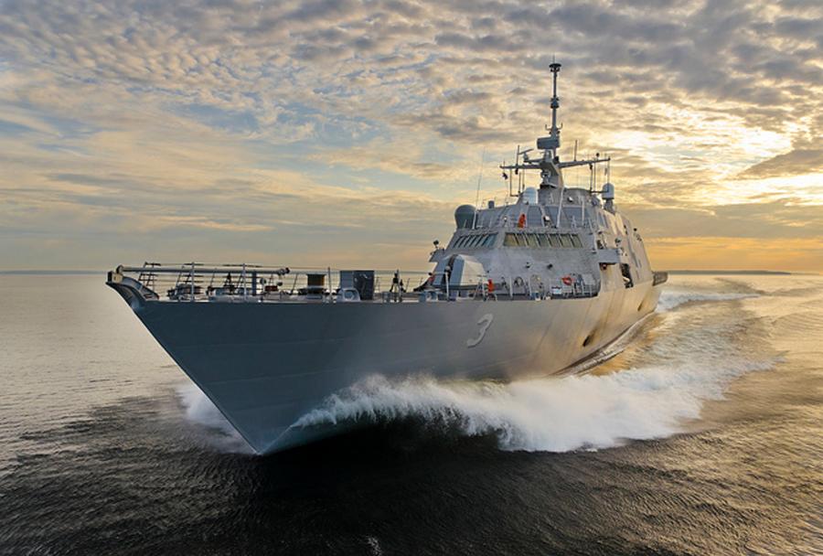 Priobalna vojaška ladja LCS-3 USS Forth Worth