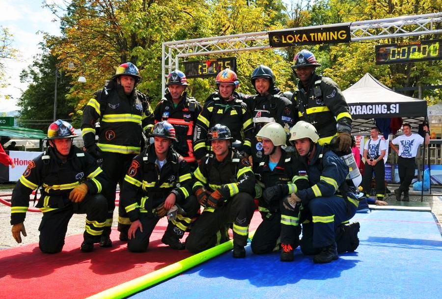 Gasilsko tekmovanje Firefighter Combat Challenge 2014 na Bledu - tekmovalci