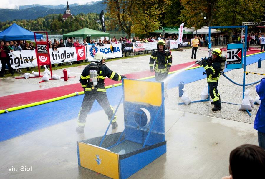 Gasilsko tekmovanje Firefighter Combat Challenge 2014 na Bledu, Slovenija