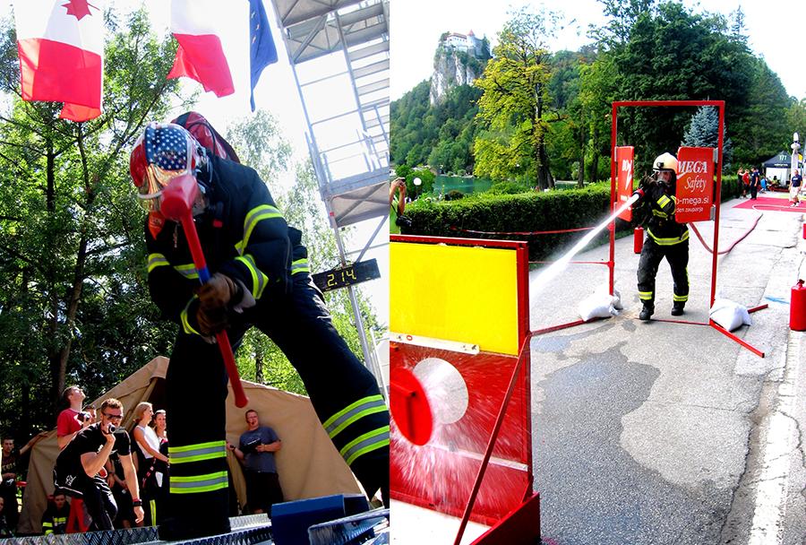 Firefighter Combat Challenge (FCC) Bled 2013