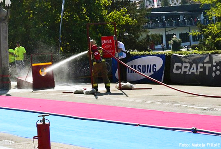 Firefighter Combat Challenge Slovenija - Bled