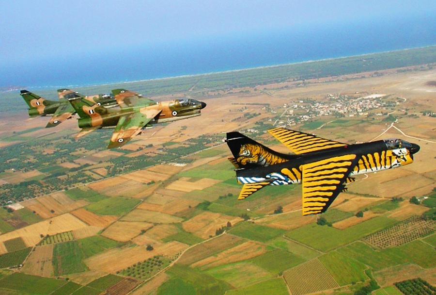 Grška letala A-7 corsair-II