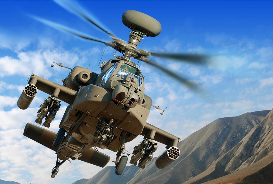 Jurišni helikopter AH-64E apache