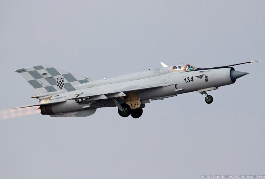 Hrvaški lovec MiG-21