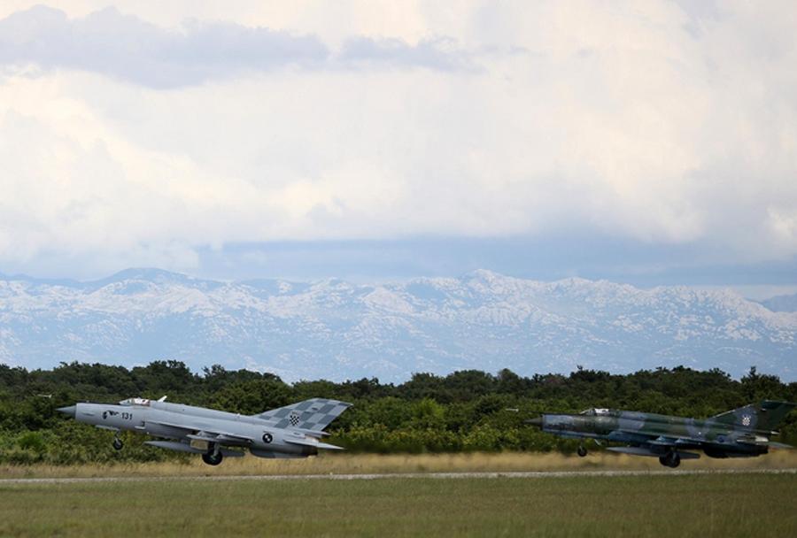 Hrvaški lovec MiG-21 (121) -zadnji vzlet