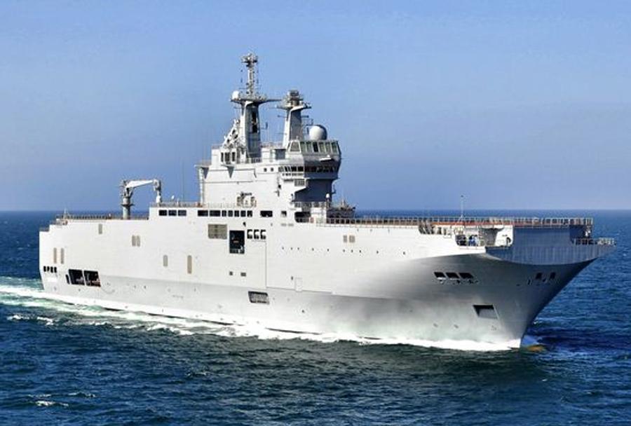 Vojaška ladja Vladivostok razreda mistral