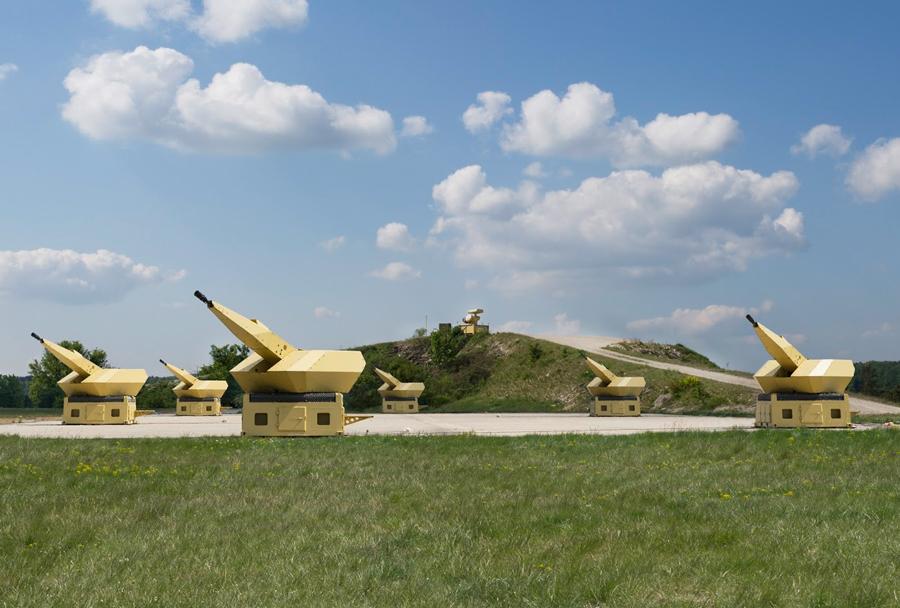 Sistem protiletalske obrambe Rheinmetall MANTIS