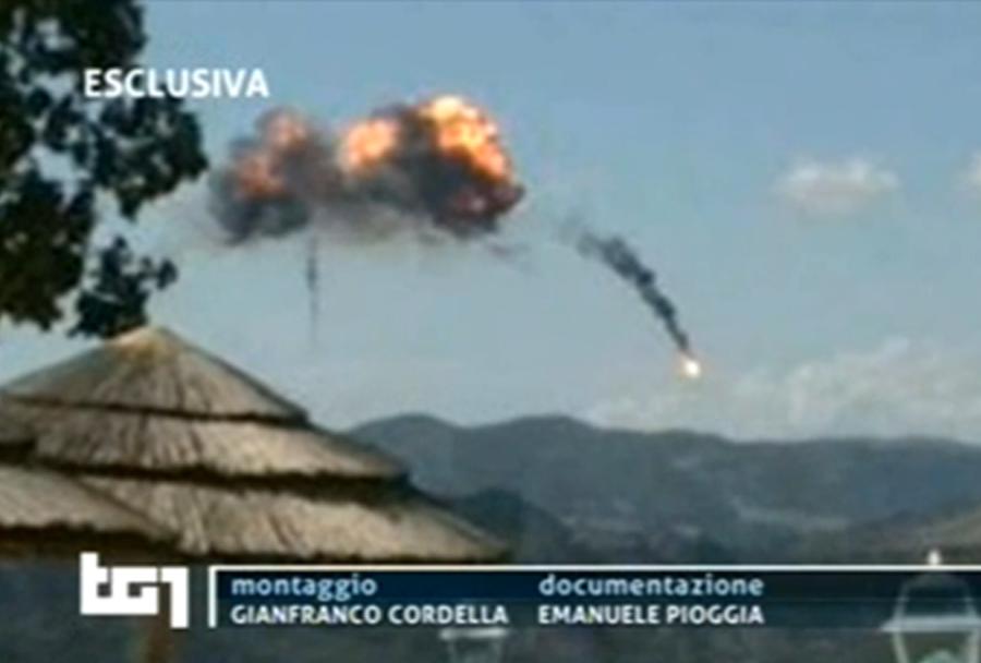 Trčenje italijanskih vojaških letal tornado