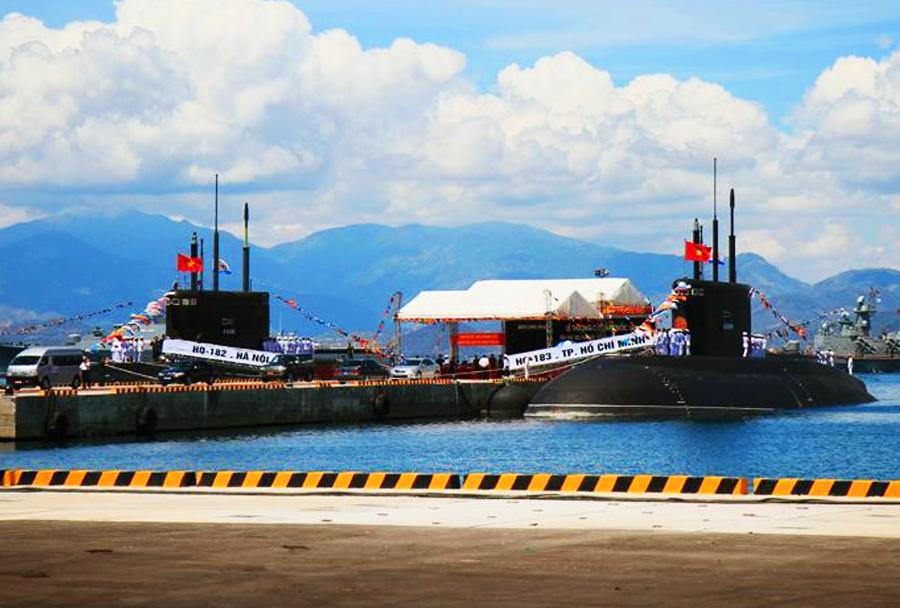 Vietnamski podmornici razreda kilo