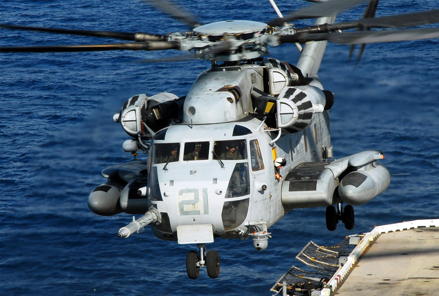Helikopter CH-53 super stallion - Ameriška mornarica