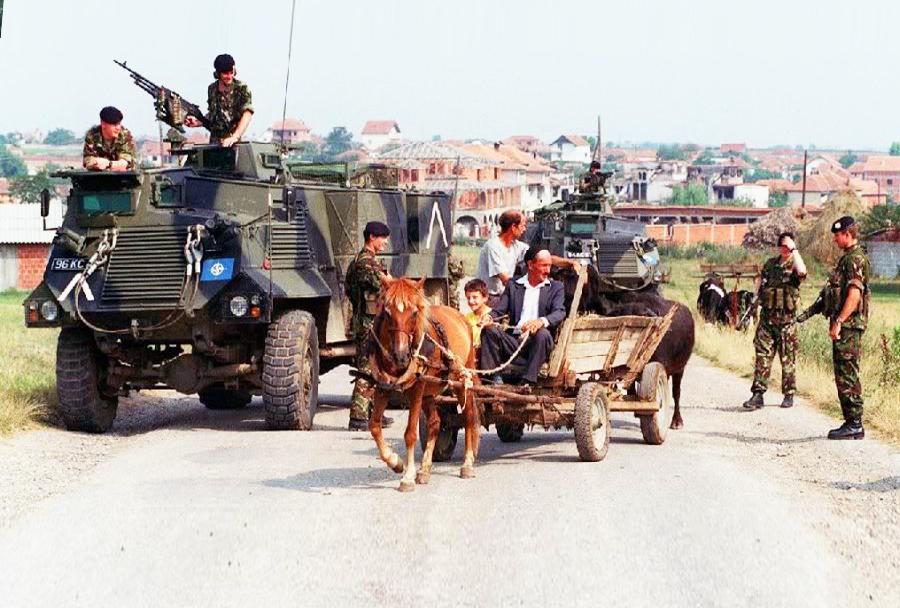 Britansko pehotno oklepno vozio AT105 saxon 4x4 - Bosna in Hercegovina