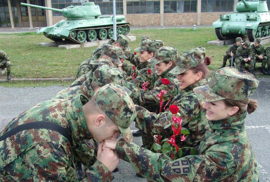Srbski vojaki
