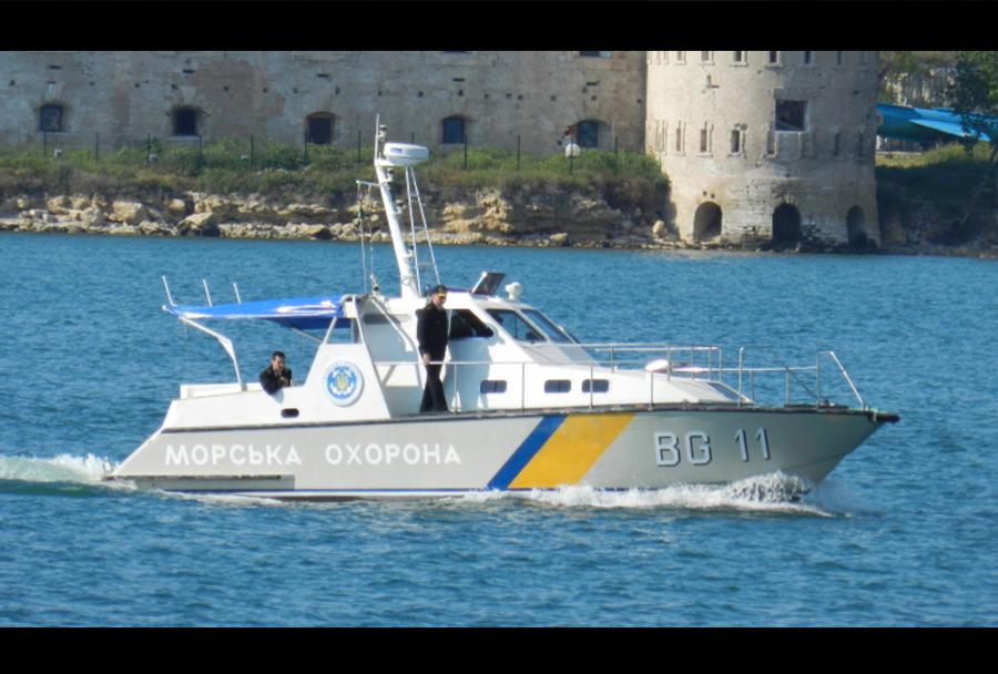 Ukrajinski patruljni čoln razreda kalkan